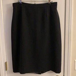 Black Nippon lined skirt